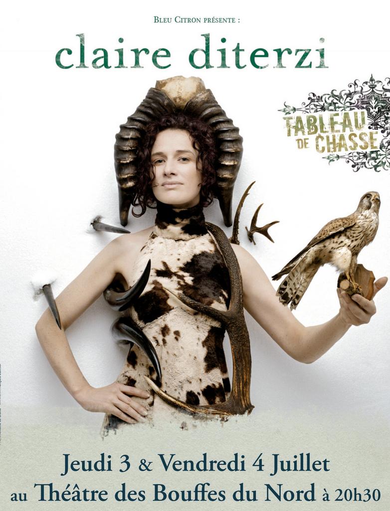 Claire Diterzi - Théâtre Bouffes du Nord