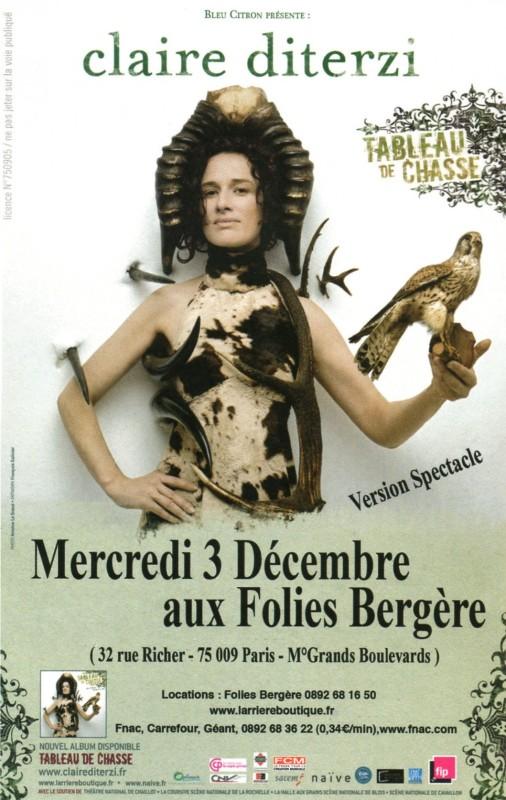 Claire aux Folies Bergère